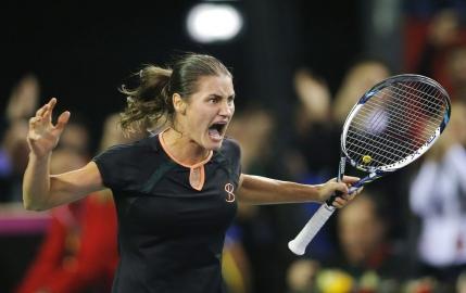 Fed Cup, Romania - Germania 1-4. Monica Niculescu rateaza doua mingi de meci si pierde in decisiv