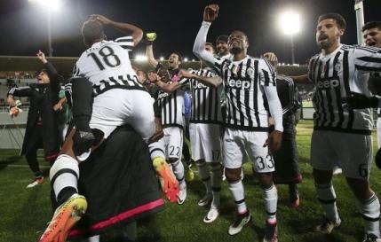 Juventus e campioana in Italia
