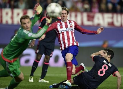 Scenariu perfect pentru Atletico Madrid. Victorie la limita cu Bayern Munchen