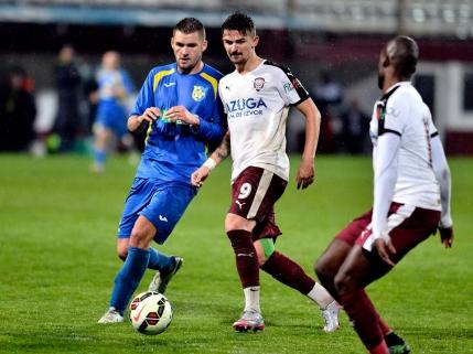 Rapid s-a impus in derby-ul pentru promovare cu Dunarea Calarasi