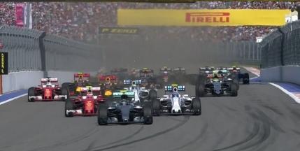 Nico Rosberg, victorie cu plecare din pole position in Rusia