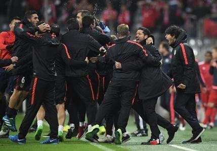 Atletico Madrid in finala Ligii Campionilor. Zidul lui Simeone a rezistat la Munchen