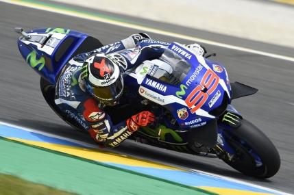 Jorge Lorenzo castiga la Le Mans si devine liderul clasei MotoGP
