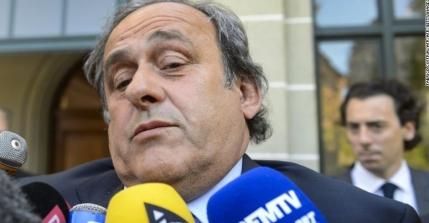 Michel Platini a demisionat de la UEFA