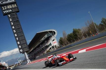Ferrari domina primele antrenamente de la Barcelona. Rosberg raspunde in a doua sesiune