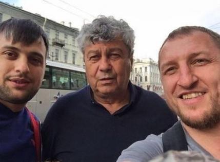 Mircea Lucescu, si-a facut un selfie in Rusia?