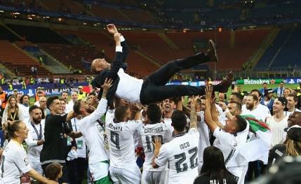 Florentino Perez merge in continuare pe mana lui Zidane
