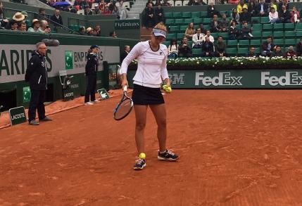 Irina Begu eliminata in optimi la Roland Garros de o jucatoare din afara topului 100 mondial