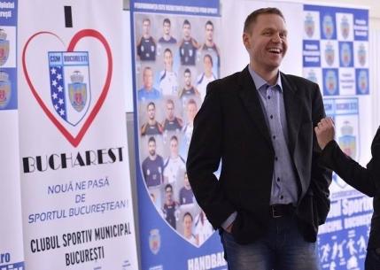 CSM Bucuresti are un nou antrenor