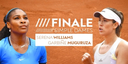 GAME cu GAME Serena Williams-Garbine Muguruza in finala de la Roland Garros