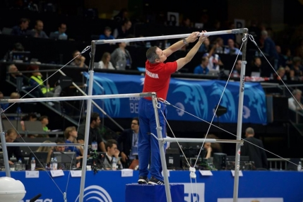 Romania sufera o noua infrangere rusinoasa la gimnastica
