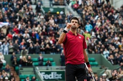 Djokovic, campion in premiera la Roland Garros