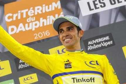 Alberto Contador il invinge pe Chris Froome in prima etapa din Dauphine