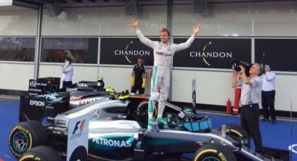 Nico Rosberg, victorie autoritara in Marele Premiu al Europei de la Baku