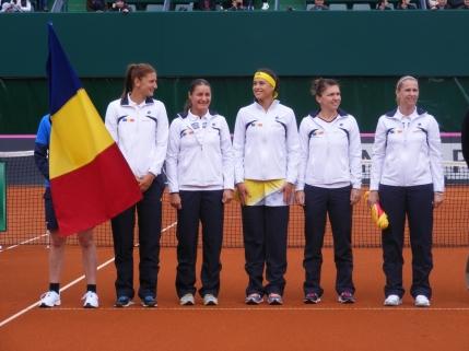 Romania si-a aflat adversara in Fed Cup
