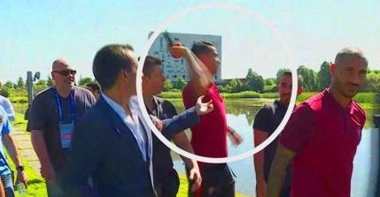 Cristiano Ronaldo e cu nervii la pamant. Gestul care ii tradeaza frustrarile de la EURO 2016 (Video)