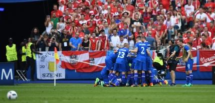Islanda castiga cu Austria la ultima faza si se califica in optimi