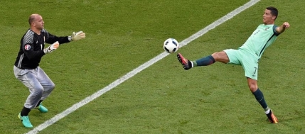 Dramatism maxim la EURO 2016: Portugalia cade pe locul 3 dupa un 3-3 cu Ungaria si dupa un gol in ultimele secunde marcat de Islanda