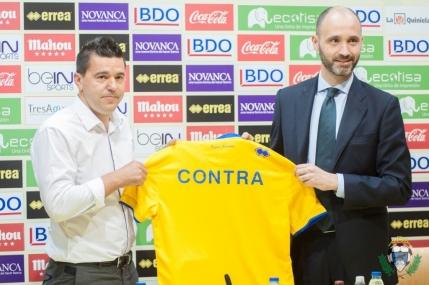 Cosmin Contra prezentat la Alcorcon, echipa din Segunda Division