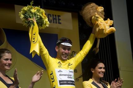 Mark Cavendish, primul tricou galben din Turul Frantei