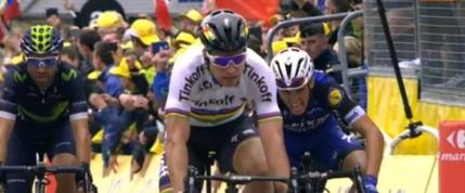 Peter Sagan, victorie de etapa si tricou galben in Turul Frantei