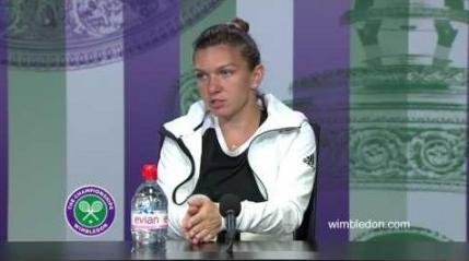 Simona Halep dupa calificarea in sferturi la Wimbledon: Sunt aproape de cel mai inalt nivel al meu