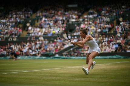 Simona Halep, cea mai tanara sfertfinalista de la Wimbledon