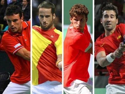 Cupa Davis: Spaniolii si-au anuntat echipa pentru meciul cu Romania