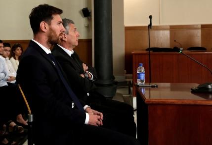 Lionel Messi condamnat la inchisoare in Spania