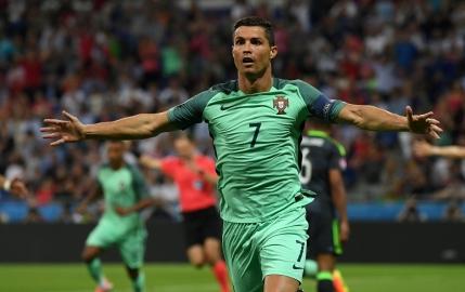 Cristiano Ronaldo l-a egalat pe Michel Platini la numarul de goluri marcate la EURO