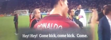 VEZI Momentul care arata ca Ronaldo este un lider adevarat