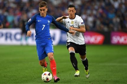 MINUT cu MINUT EURO 2016: Germania-Franta 0-2. Griezmann reusest dubla