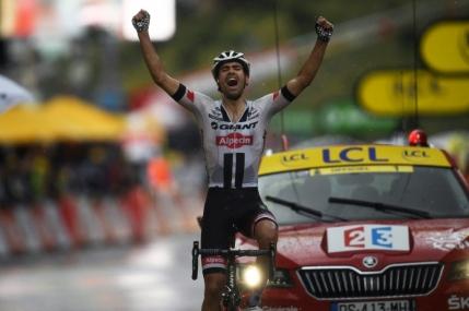 Tom Dumoulin, victorie pe ploie la Andorra Arcalis