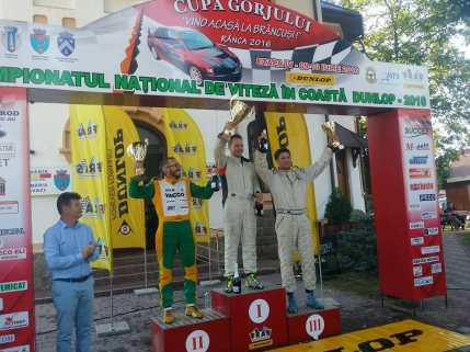 Bogdan Cuzma a castigat Cupa Gorjului la viteza in coasta si e noul lider al campionatului