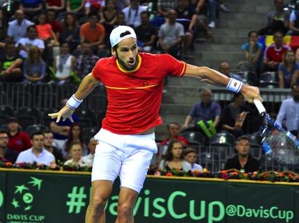 Cupa Davis, Romania-Spania: Marius Copil pierde in decisiv contra lui Feliciano Lopez