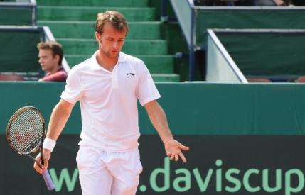 Cupa Davis, Romania-Spania: Adrian Ungur invins fara drept de apel de Bautista Agut