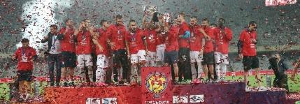 Steaua cucereste Cupa Ligii dupa prelungiri si un penalty inventat