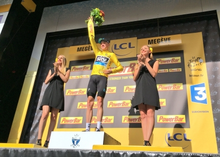 Froome isi consolideaza tricoul galben in Turul Frantei