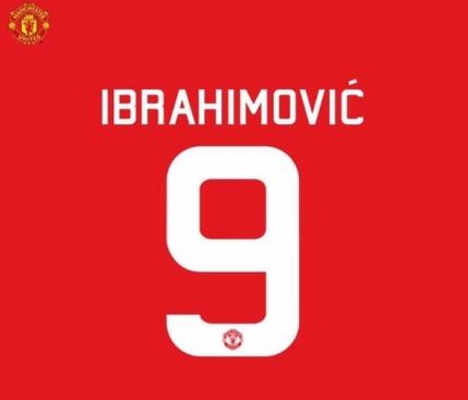 Ibrahimovic i-a luat numarul unui coechipier de la Manchester United