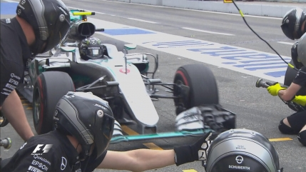 Nico Rosberg a dominat antrenamentele libere de la Hockenheim