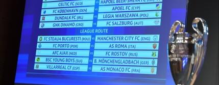 Liga Campionilor: Steaua cu Manchester City in playoff