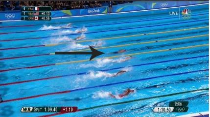 Phelps a castigat al 19-lea aur olimpic printr-o manevra incredibila