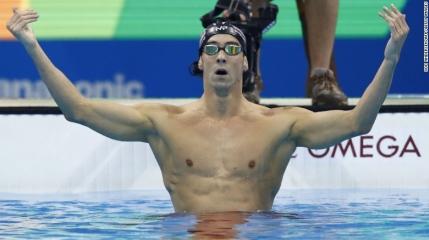 Rio 2016: Phelps a adunat 21 de medalii de aur olimpice