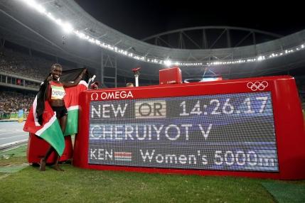 RIO 2016: O atleta din Kenya a doborat recordul lui Gabi Szabo la 5.000 de metri