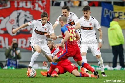 Steaua si Dinamo impart punctele in primul derby al sezonului