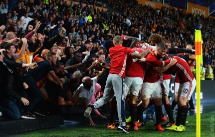 Noroc marca Mourinho. Manchester United castiga in prelungiri cu Hull