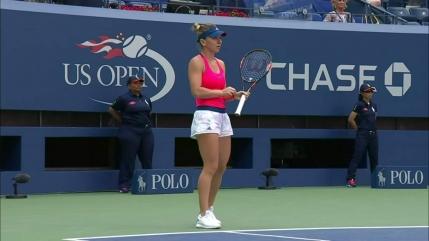 Simona Halep, dominatoare in primul meci la US Open. Aproape de 10 perfect!