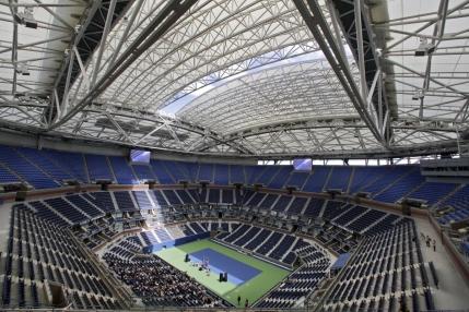 US Open: Acoperisul de 150 milioane de dolari folosit in premiera