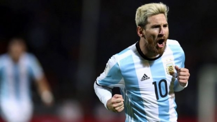 Messi revine cu gol decisiv la nationala Argentinei