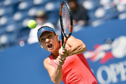 GAME cu GAME US Open: Simona Halep-Carla Suarez Navarro in optimi de finala